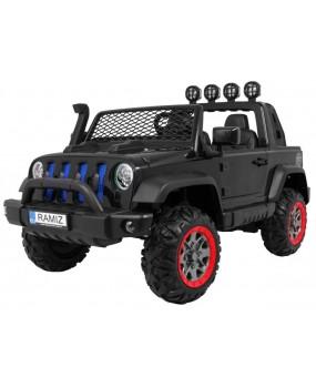 Elektrické autíčko AllRoad 4x4 čierne